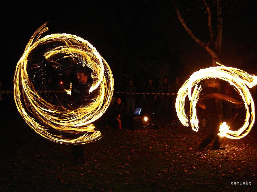Fire Tricks 1 by sanyaks