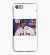 Red Sox Acquire Sandoval iPhone Case/Skin
