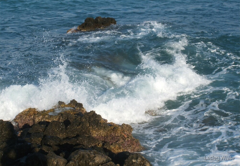 Rough Waters by Lesley White