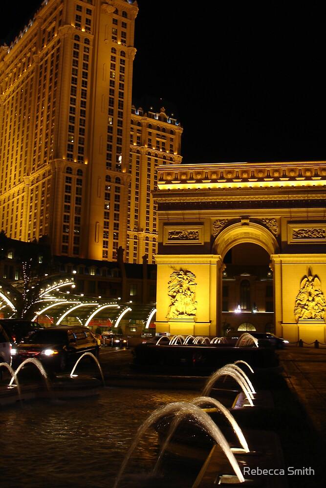 Las Vegas Paris Hotel by Rebecca Smith