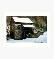 Cutalossa farm in Winter Art Print