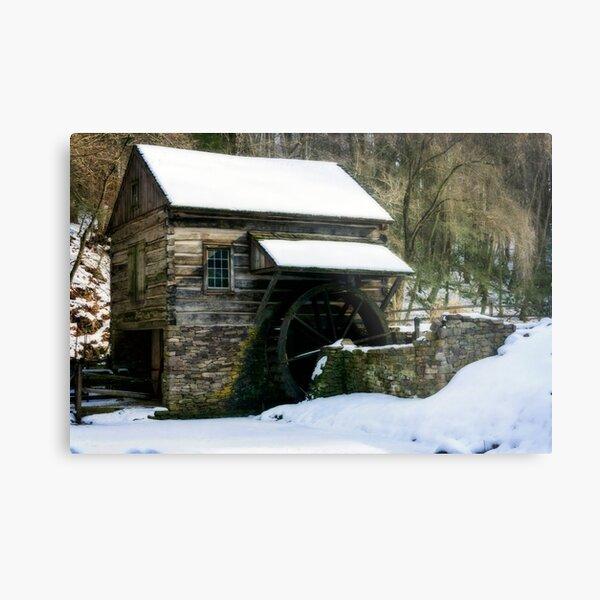 Cutalossa farm in Winter Metal Print