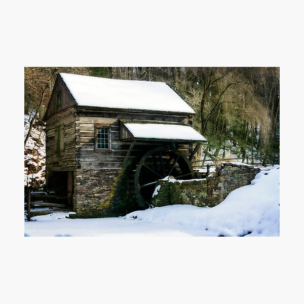 Cutalossa farm in Winter Photographic Print