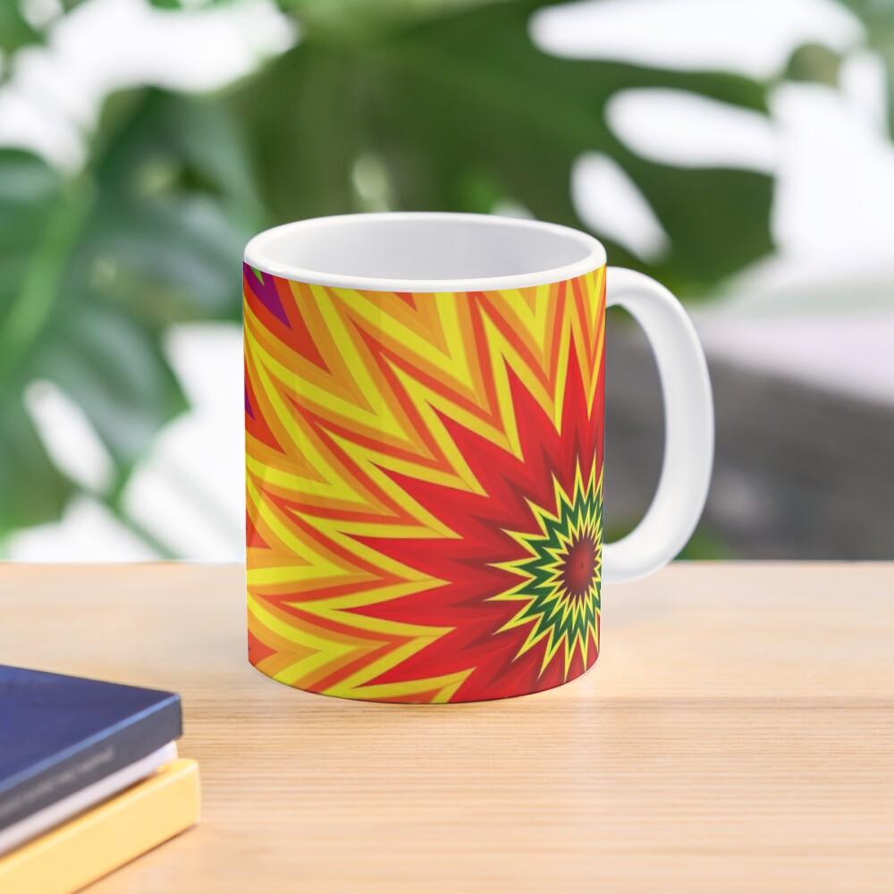 Fractal Sunflower II Mug