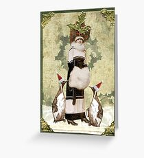 Holiday Finery Greeting Card