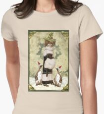 Holiday Finery Womens Fitted T-Shirt