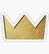 Louis the Child - Gold Crown Logo Sticker
