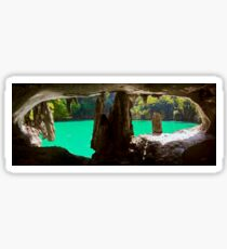 Oyster Cave in Koh Panak Sticker