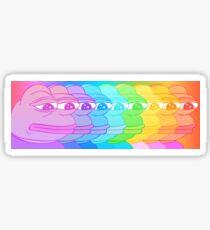 Pepe Rainbow Sticker