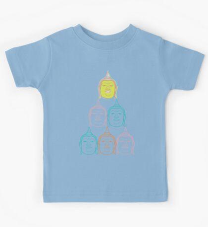 Oriental Buddha's Smile Zen Colorful Pop Art Kids Clothes
