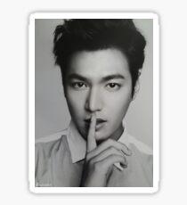Lee Min Ho 'Shhh' Sticker