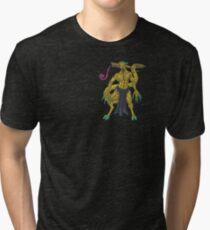 Twin Trolls Tri-blend T-Shirt