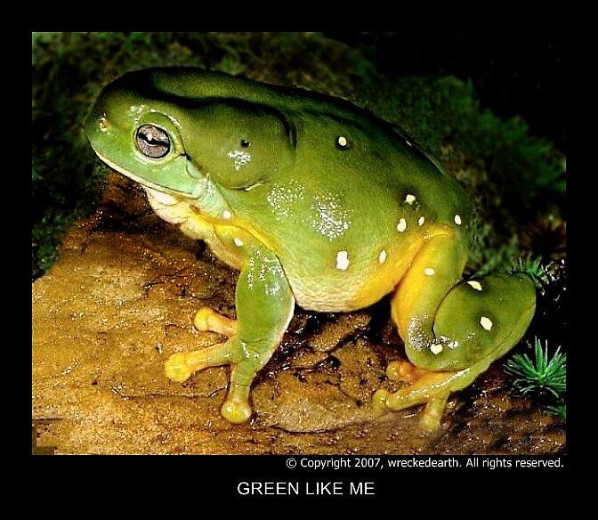 Green like me by Birte