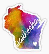 Waukesha Sticker