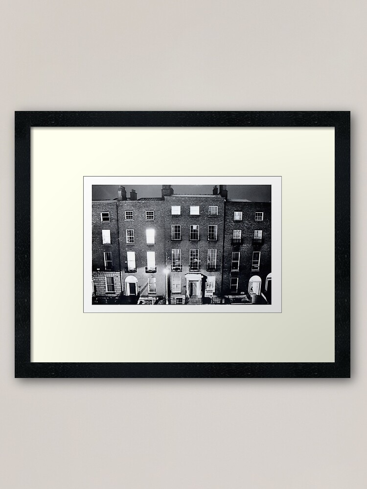 Alternate view of Late night cleaning Framed Art Print