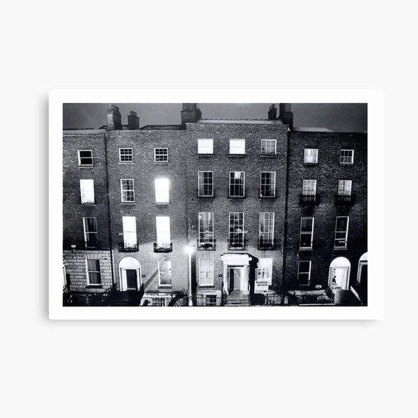 Late night cleaning Canvas Print