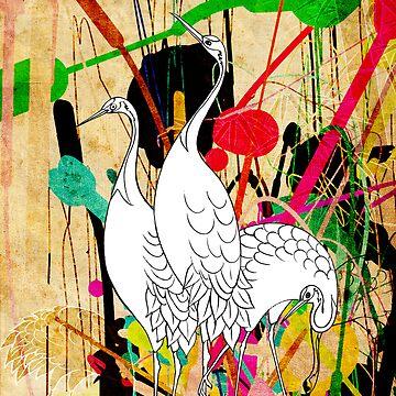 Swans by faizan