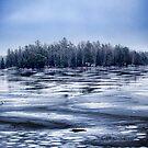Ice island by amgunnphotoart