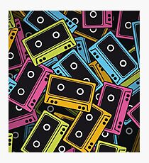 Cassette Tape Photographic Print