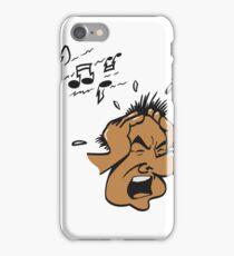 kopf hände laut krach musik  iPhone Case/Skin
