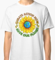 People's Climate Change March on Washington Justice 2017 Classic T-Shirt