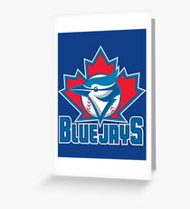 Blue Jays MLB Greeting Card