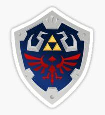 Pegatina Zelda - Escudo de Hylian