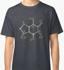 Caffeine Molecule - The Molecular Formula for Caffeine! Classic T-Shirt