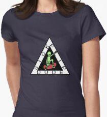 Sick Flip Dude Women's Fitted T-Shirt