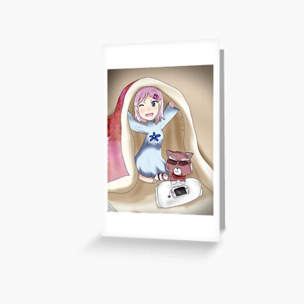 oc - elf hana Greeting Card