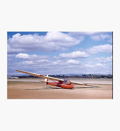 ES49, 2 seater Sailplane. Gawler, South Australia, 1960. Photographic Print
