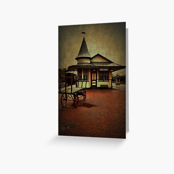 New Hope & Ivyland Railroad Station Greeting Card