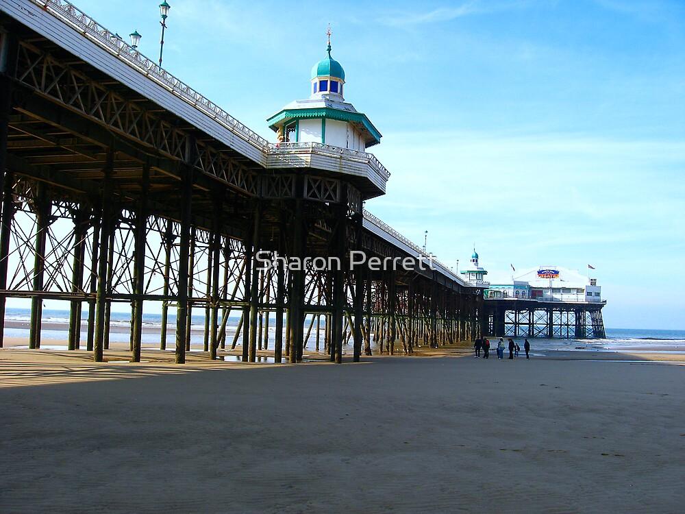 Blackpool Pier (1) by Sharon Perrett