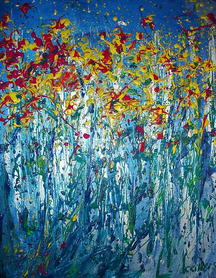 Spring Burst by Carmen  Cilliers