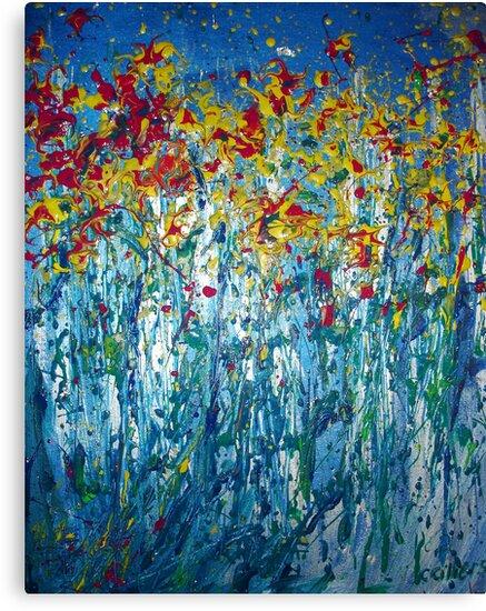 Spring Burst by Carmen  Cilliers