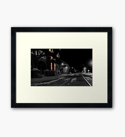 Mauch Chunk Station Ala Polar Express Framed Print