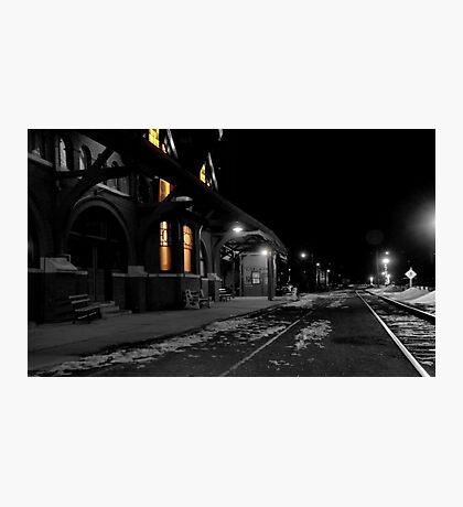 Mauch Chunk Station Ala Polar Express Photographic Print
