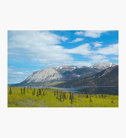 Mountains along the Yukon Trail, BC, Canada. 2012. Photographic Print