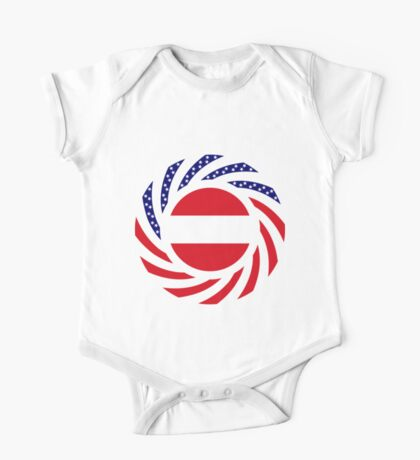 Austrian American Multinational Patriot Flag Series Kids Clothes