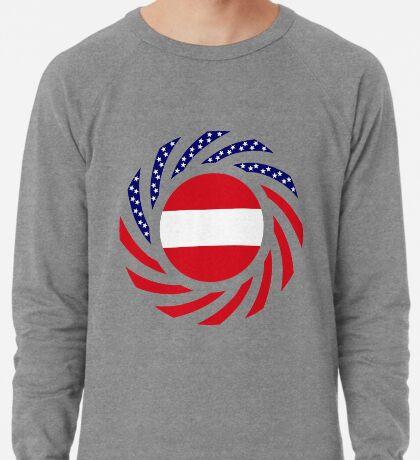 Austrian American Multinational Patriot Flag Series Lightweight Sweatshirt