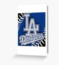Los Angles Dodgers MLB Greeting Card