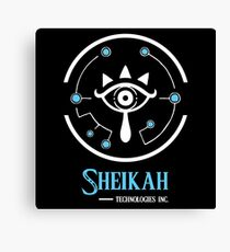 Sheikah Technologies Canvas Print