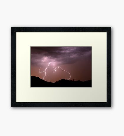 Circle of Light Framed Print