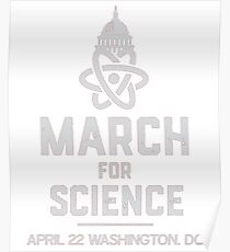 March For Science April 22, 2017 Poster