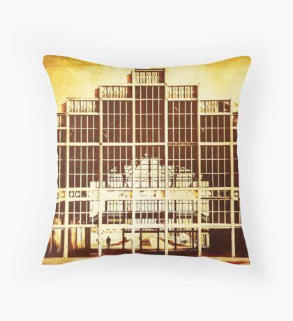 Asbury Casino Throw Pillow