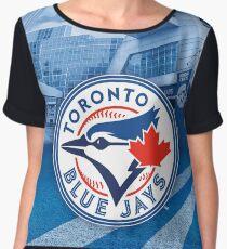 MLB Toronto Blue Jays Chiffon Top