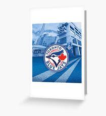MLB Toronto Blue Jays Greeting Card