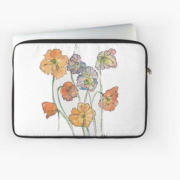Cute Cut Flowers Laptop Sleeve