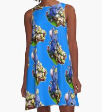 Stitch with Ducklings A-Line Dress
