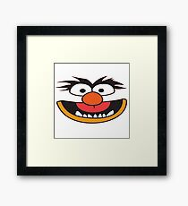 grover smile Framed Print